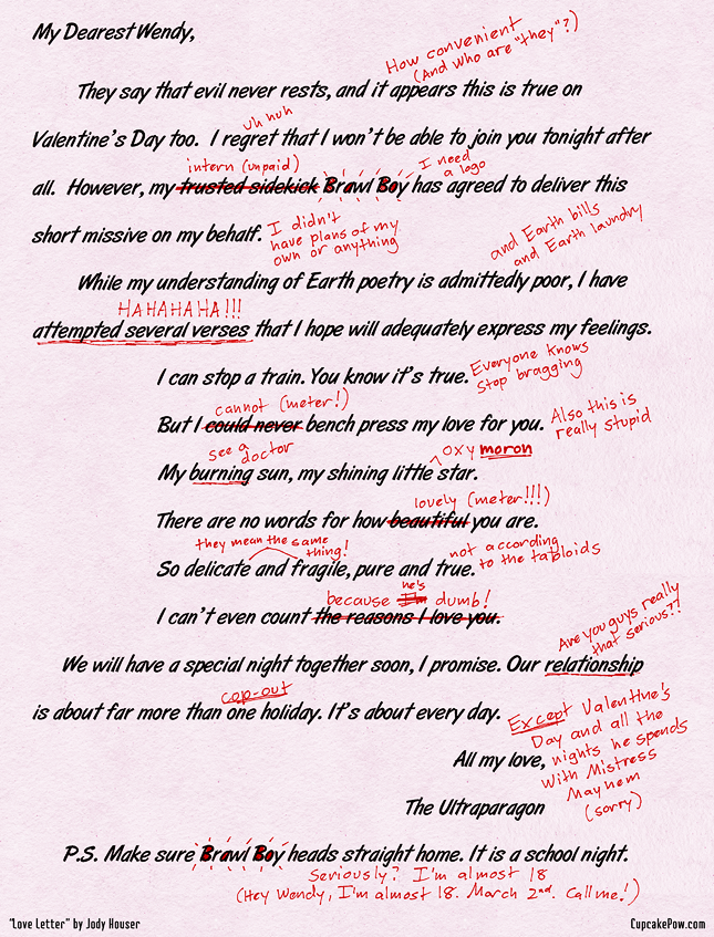 Originally published in the Womanthology Valentine's Day PDF.
